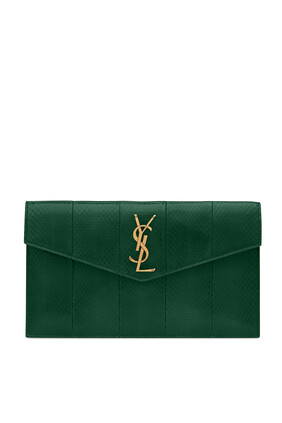 UPTOWN POUCH:Green :One Size