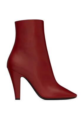 حذاء بوت 68 جلد ناعم