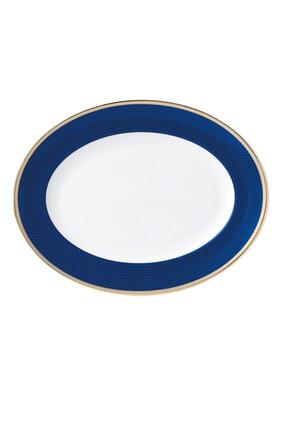 طبق هبيسكاس بيضاوي 35 سم