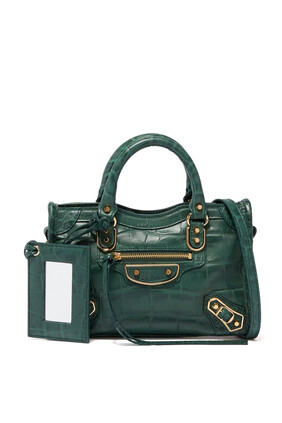 حقيبة نانو سيتي بتصميم كلاسيك لامع