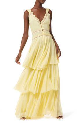 فستان قطن إسباني