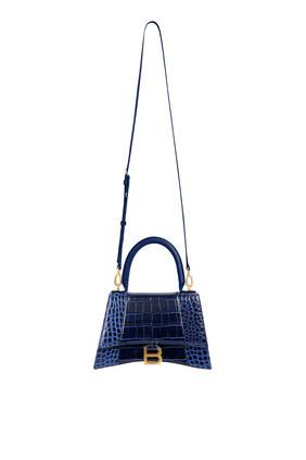 حقيبة بيد علوية وتصميم مقوس حجم S