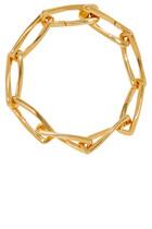 سوار بيرويت سميك بتصميم سلسلة بلون ذهبي