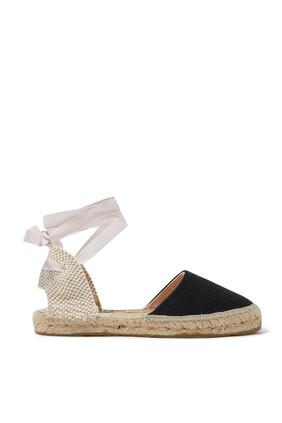 حذاء فالنسيانا بسيور ملفوفة حول الكاحل