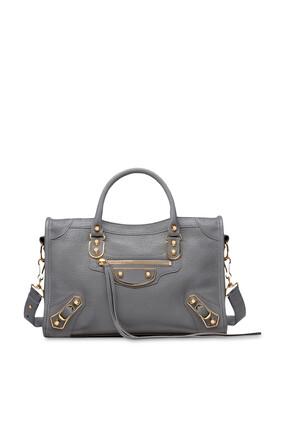 حقيبة كتف إيدج سيتي لامعة متوسطة الحجم