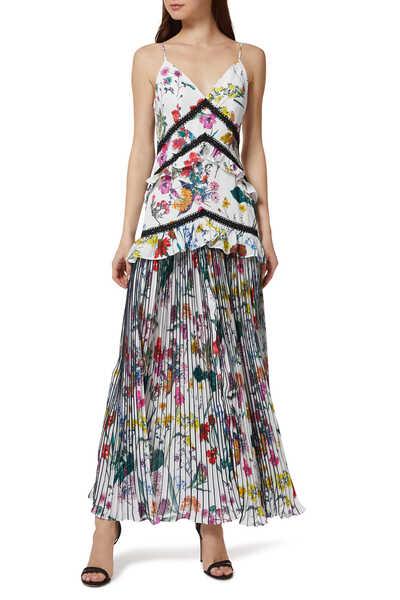 فستان بارادوكس بنقشة الزهور