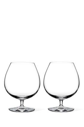 طقم كأس وترفورد بتصميم واسع وساق قصيرة 28.7 أونصة، قطعتان