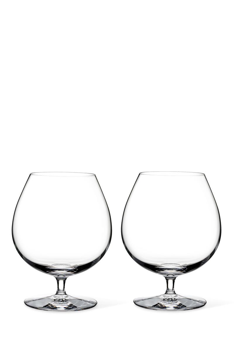 طقم كأس وترفورد بتصميم واسع وساق قصيرة 28.7 أونصة، قطعتان image number 1