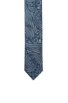 ربطة عنق بيترول بنقشة بيزلي