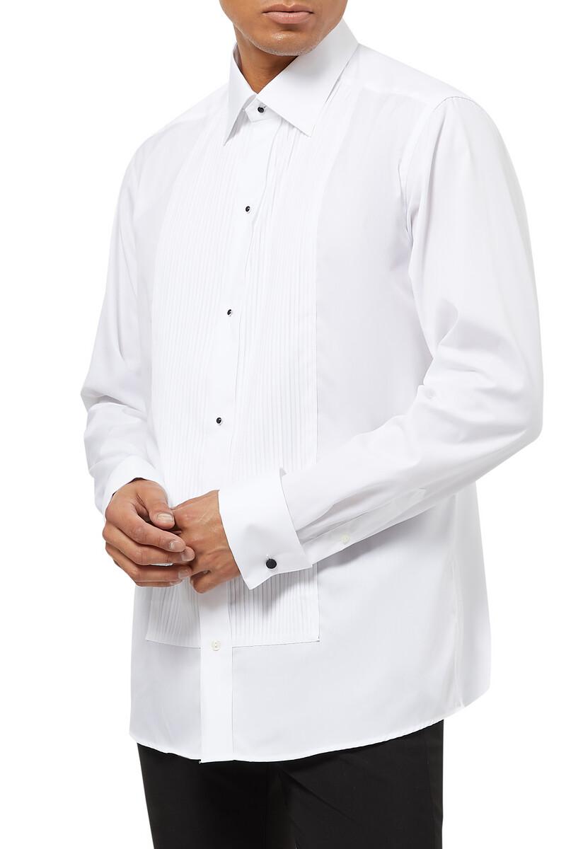 قميص إيفينينج بطيات image number 1