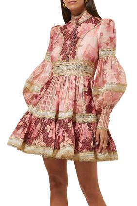فستان كونسرت مقسم لأجزاء
