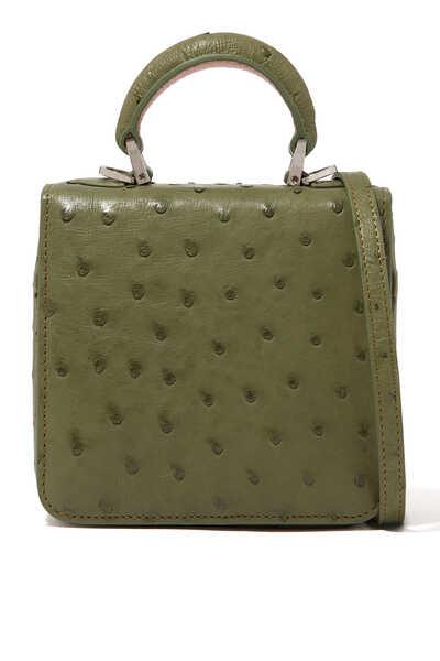 حقيبة إف مربعة صغيرة بيد علوية