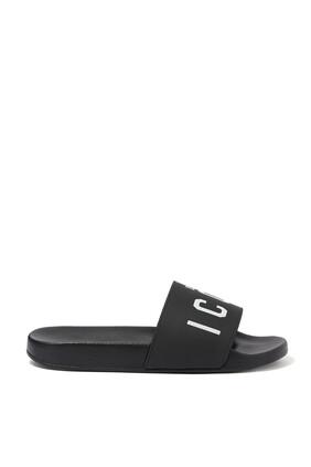حذاء مفتوح بشعار Icon