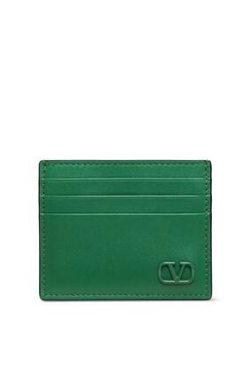 حافظة بطاقات فالنتينو غارافاني مزينة بشعار V بحجم صغير