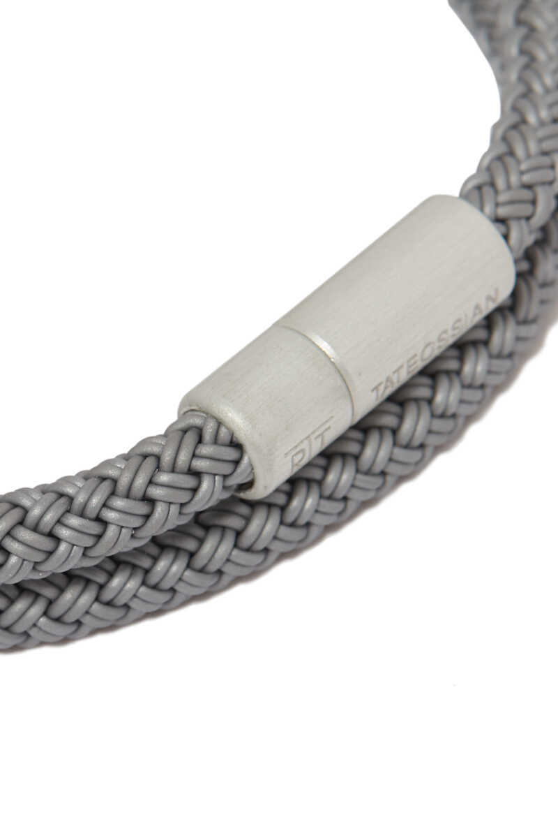 RT/ Alum/ Rubber/Roundbraidedmm4mm /Grey/ Double WrapL-41(L)/Rubber Cable:Grey1:L image number 4