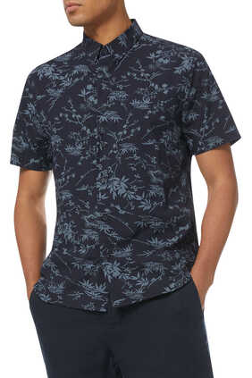 قميص قطن بنقشة باتيك الكلاسيكية