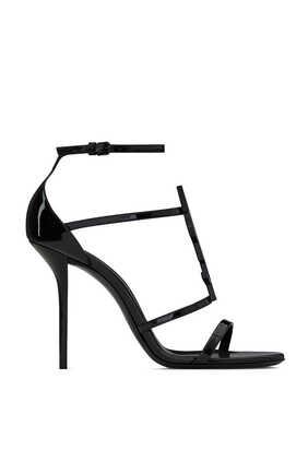 حذاء كاساندرا مفتوح جلد