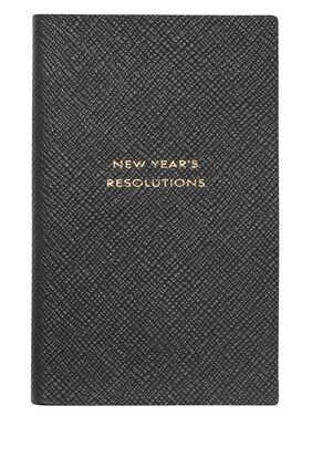 دفتر ملاحظات باناما بطبعة New Year's Resolution