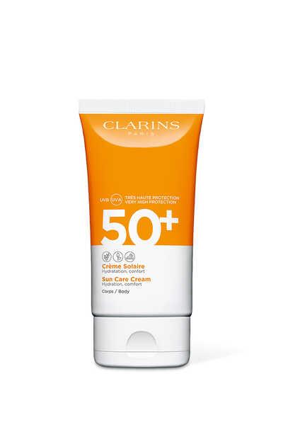 كريم حماية الجسم من أشعة الشمس فوق البنفسجية الطويلة والمتوسطة +50