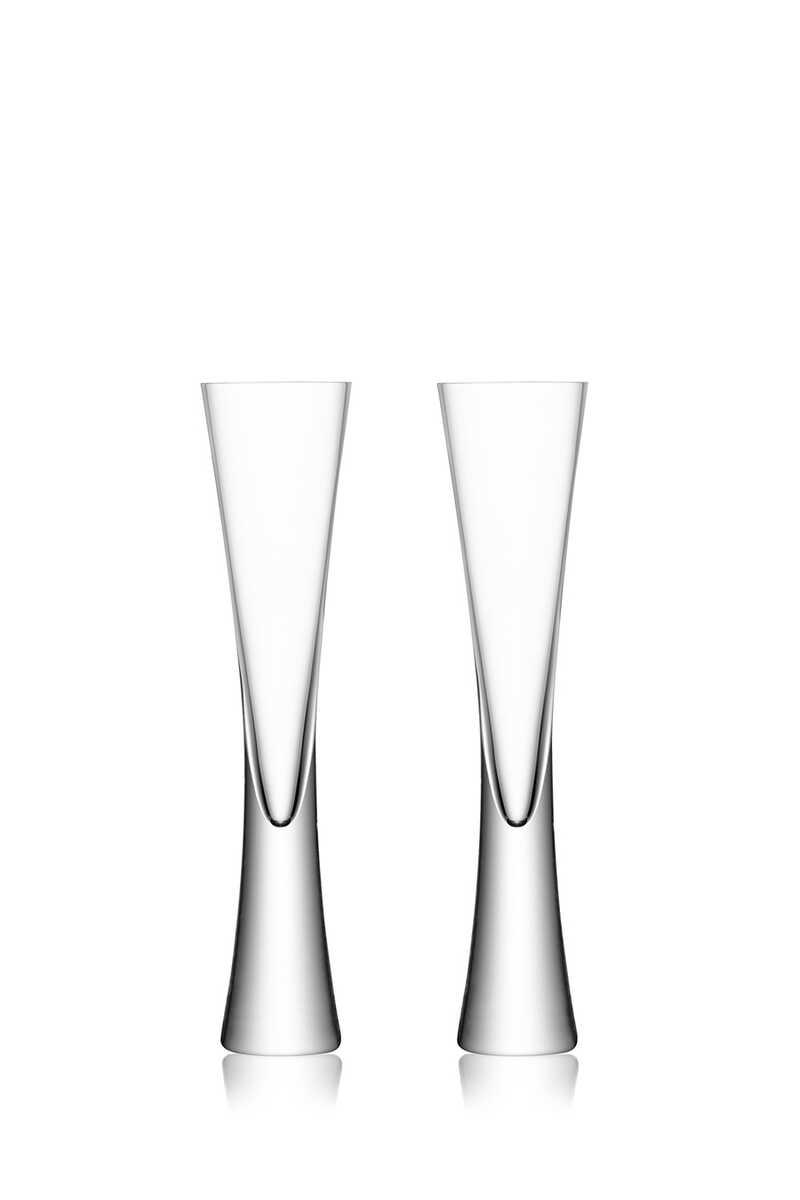 كأس طويلة ورفيعة من مجموعة مويا، قطعتان image number 1