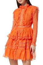 فستان روزالين شيفون