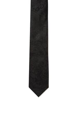 ربطة عنق حرير بنقشة بيزلي
