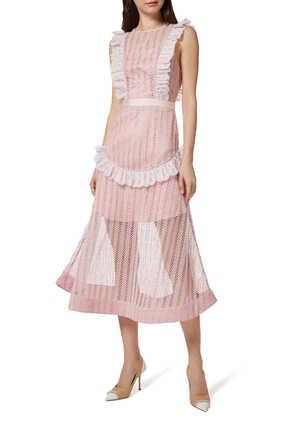 فستان بورتريت دانتيل