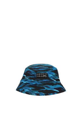 JB HAT WAVES PRINT:Blue:5-9Y
